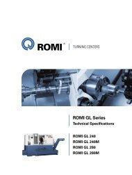 ROMI GL Series