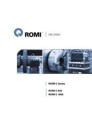 ROMI C 830 catalog
