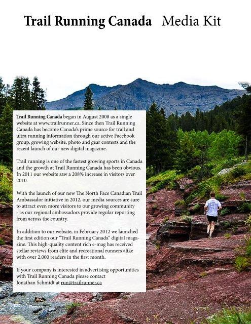 Trail Running Canada Media Kit - Trailrunner.ca