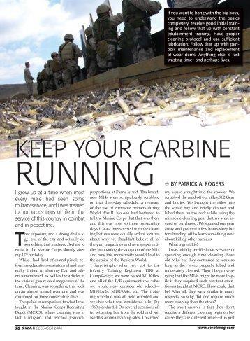 Keep Your Carbine Running - AR15.Com