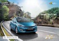 Zubehör Frühjahrs-/Sommerfolder 2012 - Hyundai