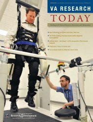 VA Research Today Magazine - VHA Office of Research ...