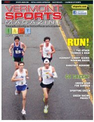VS May10 FINAL.indd - Vermont Sports Magazine