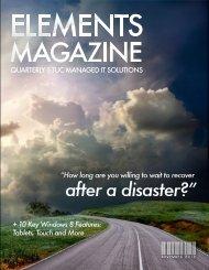 TUC - Elements Magazine - Issue 001