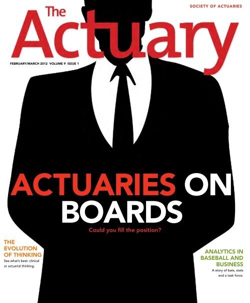 what s an actuary