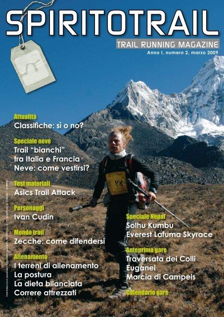 TRAIL RUNNING MAGAZINE The North Face® Lavaredo Ultra Trail