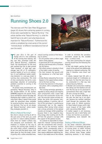 Running Shoes 2.0 - currex