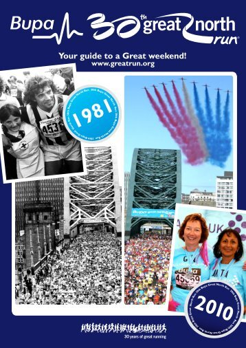 Your guide to a Great weekend! - Great Run