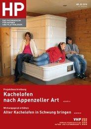 Kachelofen nach Appenzeller Art AB SEITE 14 - VHP