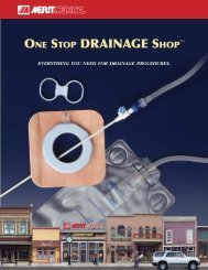 One StOp Drainage ShOp™ - Merit Medical