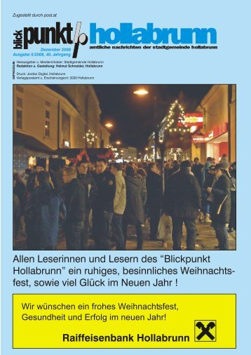 """Blickpunkt Hollabrunn"" ein - NetTeam Internet"
