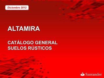 Plantilla Corporativa - Altamira Santander