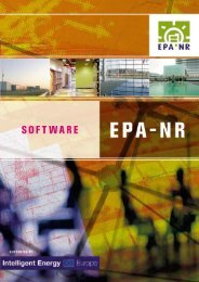 Structure of the EPA-NR software