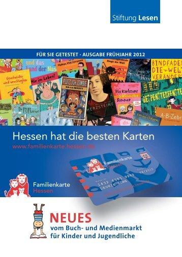 vom Buch - Familienkarte Hessen