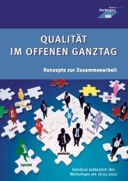 Qualität im offenen Ganztag - Konzepte zur ... - Stadt Dormagen