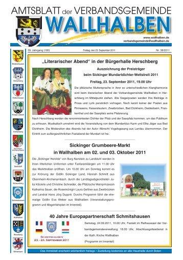 Literarischer Abend - Verbandsgemeinde Wallhalben