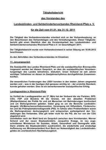 Bericht als PDF - Landesblinden