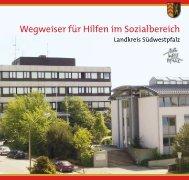 Wegweiser für Hilfen im Sozialbereich - Landkreis Südwestpfalz