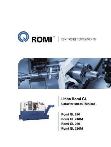 Linha Romi GL - Industrias Romi S.A.