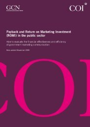 Payback and return on Marketing Investment (ROMI) in the ... - CIPR