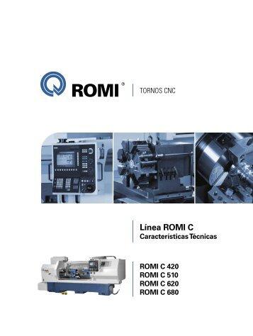 Características Técnicas Línea Romi C