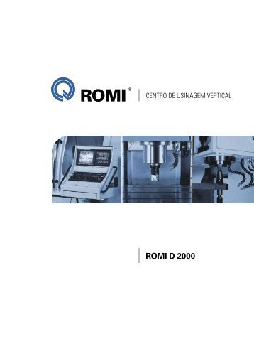 ROMI D 2000 - Industrias Romi S.A.