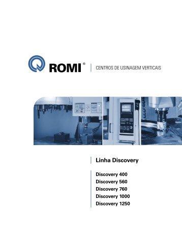 Linha Discovery - Industrias Romi S.A.