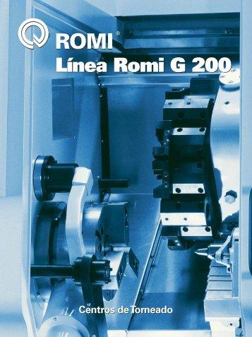 Línea Romi G 200