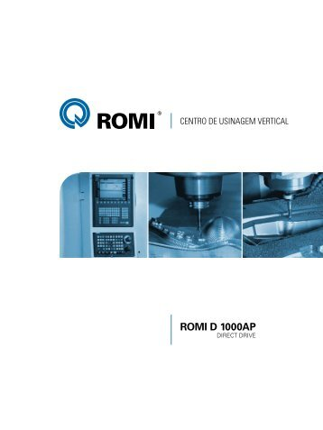 Catálogo ROMI D 1000AP - Industrias Romi S.A.