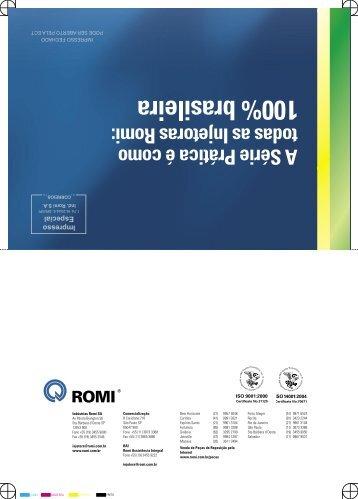 Romi Série Prática - Industrias Romi S.A.