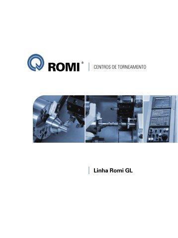 CNC GE Fanuc 0i-TC: versátil - Industrias Romi S.A.