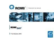 Apresentação Romi Day