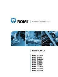 Catálogo Linha ROMI GL - Industrias Romi S.A.