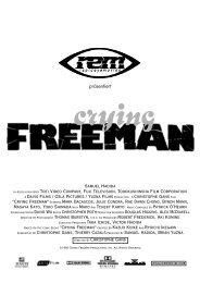 crying freeman - der comic - Deutsche Mark Dacascos Webseite