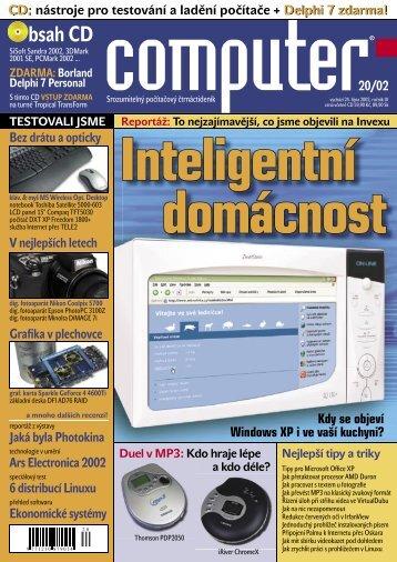 Computer 20/2002 v PDF