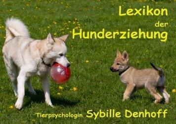 Lexikon der Hundeerziehung