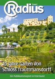 10 Jahre Gärten von Schloss Trauttmansdorff - Mediaradius