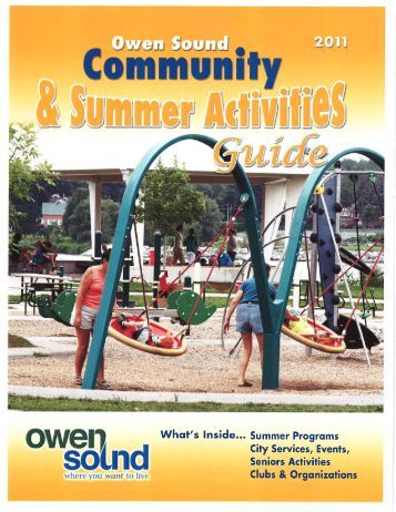 .._.., m - City of Owen Sound