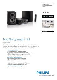 MBD7020/12 Philips Blu-ray-komponent-hi-fi-system