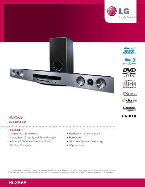 HLX56S - LG Electronics