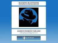HACKING BLUETOOTH - Seguridad Mobile