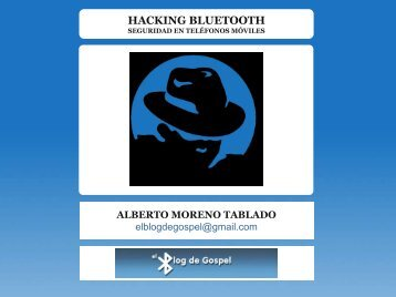 HACKING BLUETOOTH - Seguridad Mobile
