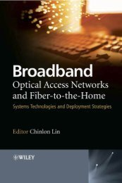 Broadband Optical Access Networks and Fiber-to-the