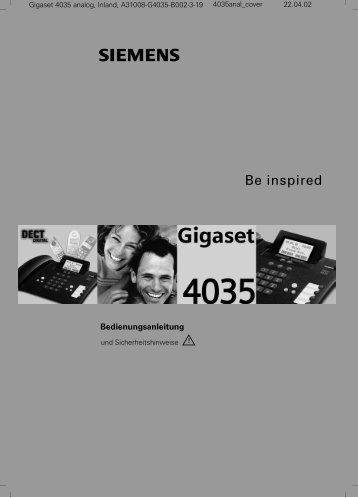 Siemens Gigaset 4035