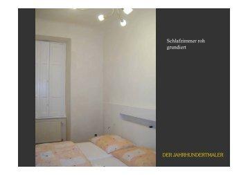 Schlafzimmer roh grundiert - jahrhundertmaler
