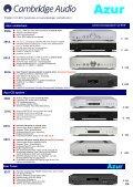 Versterkers CD-spelers Blu-rayspelers Netwerkstreamers iPod-iPad ... - Page 2