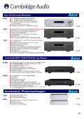 Versterkers CD-spelers Blu-rayspelers Netwerkstreamers iPod-iPad ... - Page 3