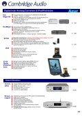 Versterkers CD-spelers Blu-rayspelers Netwerkstreamers iPod-iPad ... - Page 4