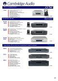 Versterkers CD-spelers Blu-rayspelers Netwerkstreamers iPod-iPad ... - Page 5