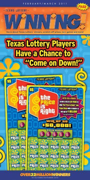 Over32MilliOnWinners - Texas Lottery